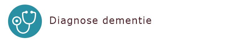 diagnose bij dementie
